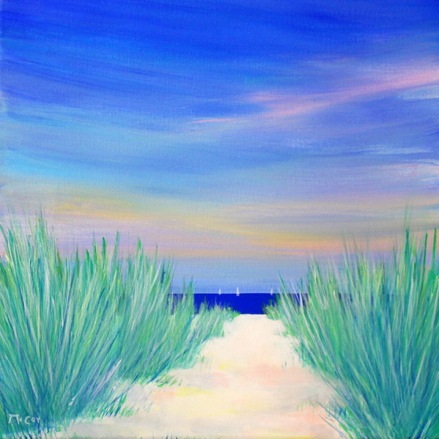 Beach Path - SOLD
