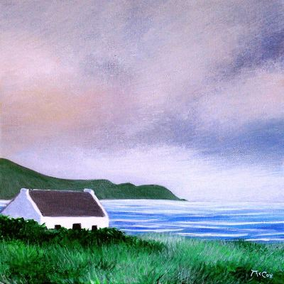 Clouds over the Wild Atlantic Way - SOLD