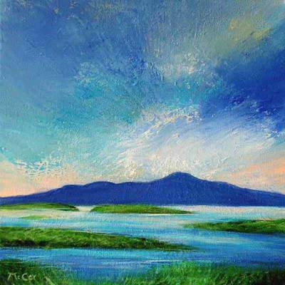 Early Morning Light at Clew Bay - SOLD