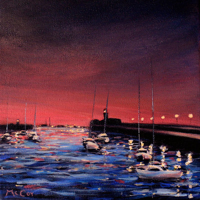 Evening Reflections - SOLD