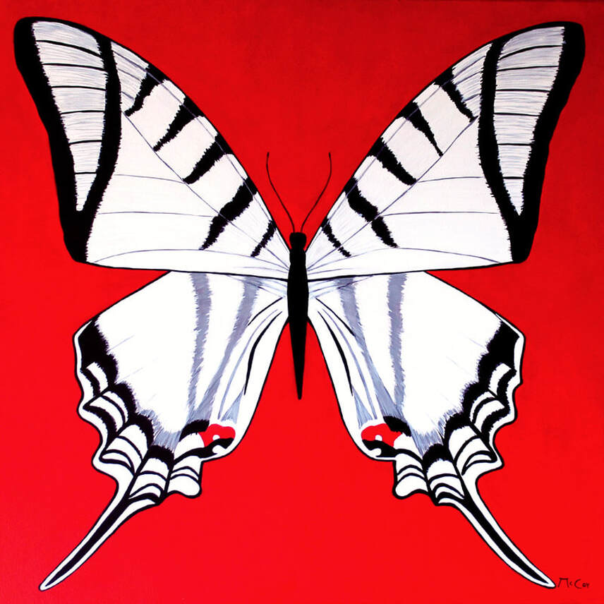 Metamorphosis - Butterfly Art