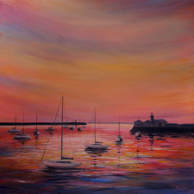 Sunset Colours - SOLD